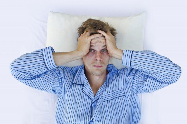 struggle sleeping